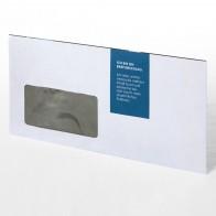 Briefumschläge mit Fenster (nassklebend)