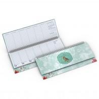 Tischquerkalender (Karton)