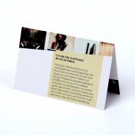 Visitenkarten (Klappkarten)