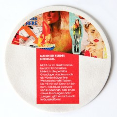 Bierdeckel (Digitaldruck,10 ac- 400 Stück) MY MATZ