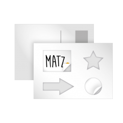 MY MATZ Stickercard