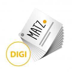 Druckmusterfächer Digitaldruckpapiere MY MATZ