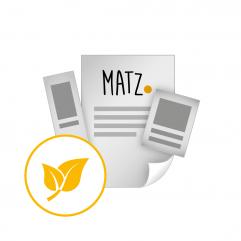 Flyer (Umwelt) MY MATZ
