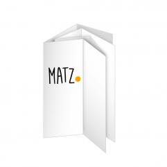 Folder (Dreifachparallelfalz) MY MATZ