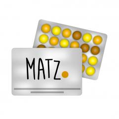 Blister-Kalender MY MATZ