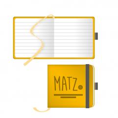 Notizbuch Ivory (App-Form) MY MATZ