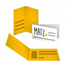 Visitenkarten (Klappkarten) MY MATZ