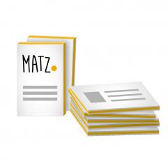 Exklusive Multiloft Visitenkarten Mit Farbkern Drucken My Matz