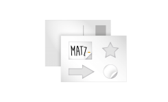 MY MATZ Stickercard
