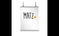 Banner mit Aufhängung MY MATZ