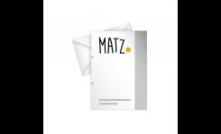 Briefpapier (klassisch) MY MATZ