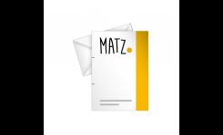 Briefpapier mit Sonderfarben MY MATZ