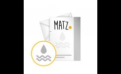 Briefpapier mit Wasserzeichen MY MATZ