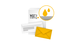 Briefumschläge ohne Fenster (nassklebend) MY MATZ