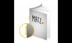 Magazine (Rückstichheftung) MY MATZ