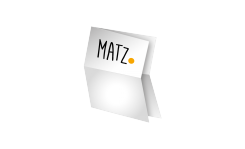 Folder (Kreuzbruchfalz) MY MATZ