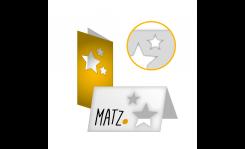 Grußkarten (mit Laserschnitt) MY MATZ