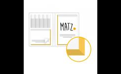 Bookcover (mit Farbschnitt) MY MATZ