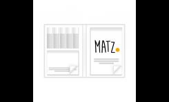 Bookcover (klassisch) MY MATZ
