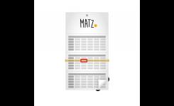 Einblatt-Wandkalender (mit Abriss) - MY MATZ