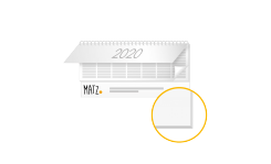 Tischquerkalender (Karton) MY MATZ