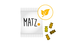 Fruchtgummi (Veggi) - MY MATZ