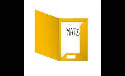 Prospektmappe (Laschen gerade) MY MATZ