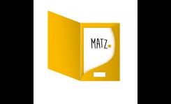 Prospektmappe (Laschen gerundet) MY MATZ