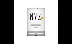 Plakate (Allwetterplakat) MY MATZ
