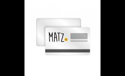 Plastikkarten mit Magnetstreifen MY MATZ