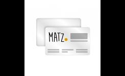 Plastikkarten 540 µ (Standard, Slim) MY MATZ