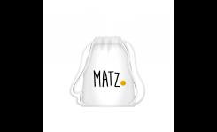 Turnbeutel aus Stoff (Gymsack) - MY MATZ