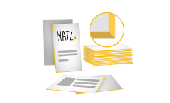 Visitenkarten (mit Farbschnitt) - MY MATZ