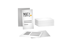 Visitenkarten (klassisch) MY MATZ